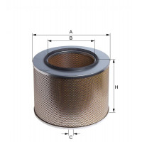 E312L HENGST AIR FILTER - MERCEDES ACTORS/AXOR/ATEGO