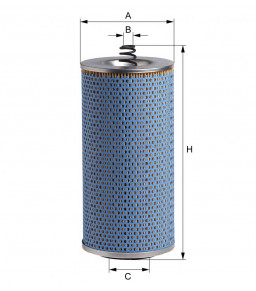 E251HD11 HENGST OIL FILTER - MERCEDES LP