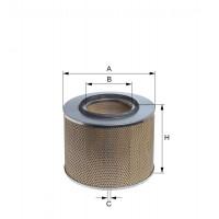 E273L HENGST AIR FILTER - MERCEDES LP 2031
