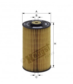 E10KPD10 HENGST FUEL FILTER - MERCEDES LP 51.12503.0062
