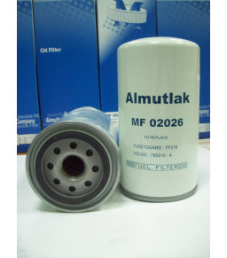 MF02026 Carton Of 10 Pieces ALMUTLAK Fuel Filter