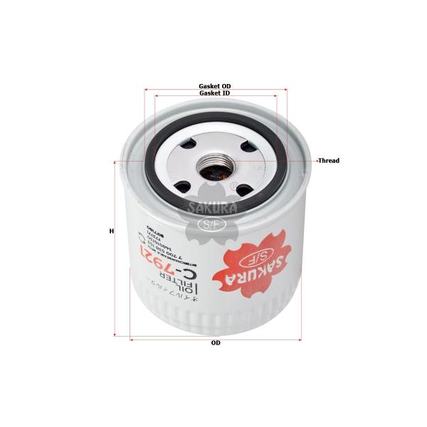 C7921 Sakura Filter Oil
