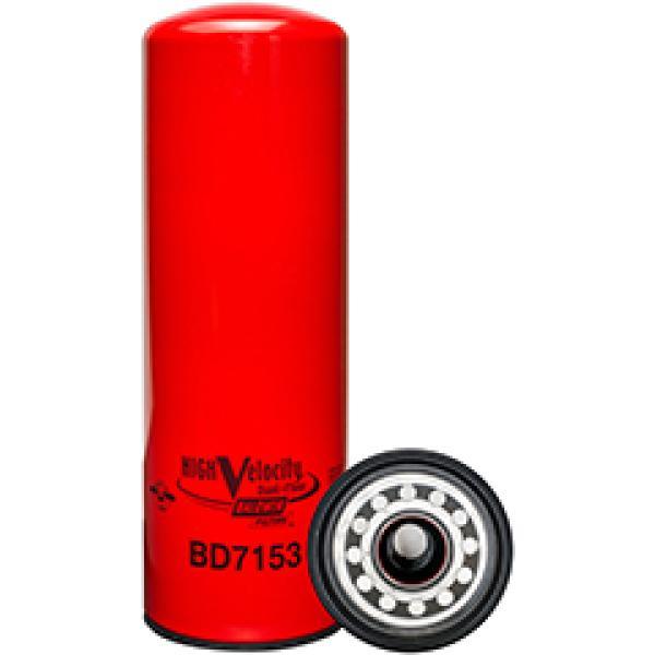 BD7153 Baldwin Heavy Duty High Velocity Dual-Flow Lube Spin-on