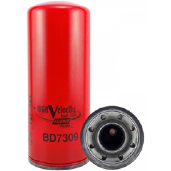 BD7309 Baldwin Heavy Duty High Velocity Dual-Flow Lube Spin-on