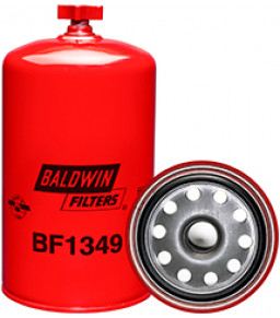 BF1349 Baldwin Heavy Duty Fuel/Water Separator Spin-on with Drain