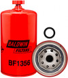 BF1356 Baldwin Heavy Duty Fuel/Water Separator Spin-on with Drain