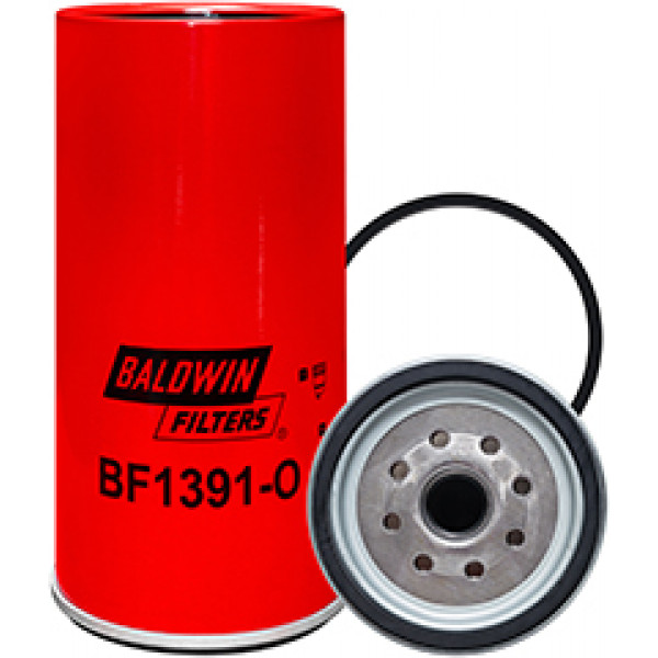 BF1391-O Baldwin Heavy Duty Fuel/Water Separator Spin-on with Open Port for Bowl
