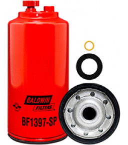 BF1397-SP Baldwin Heavy Duty Fuel/Water Separator Spin-on with Drain and Sensor Port