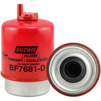 BF7681-D Baldwin Heavy Duty Primary Fuel/Water Coalescer Element with Drain
