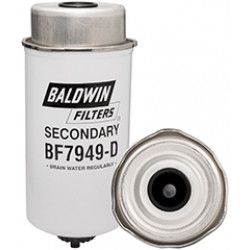 BF7949-D Baldwin Heavy Duty Secondary Fuel/Water Separator Element with Removable Drain