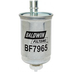 BF7965 Baldwin Heavy Duty In-Line Fuel/Water Separator with Drain