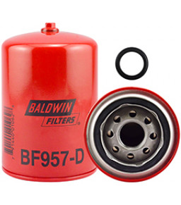 BF957-D Baldwin Heavy Duty Fuel Spin-on with Drain