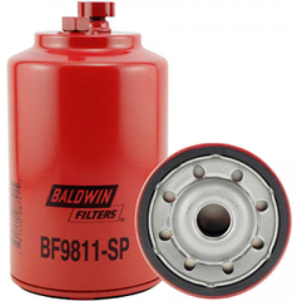 BF9811-SP Baldwin Heavy Duty Fuel/Water Separator with Drain and Sensor Port