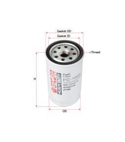 FC1005 Sakura Filter Fuel