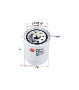 FC1007 Sakura Filter Fuel