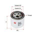 FC1302 Sakura Filter Fuel