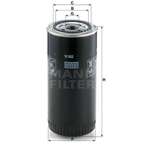 W962 Mann Filter Oil