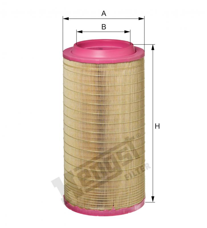 E1016L HENGST AIR FILTER - MERCEDES ACTORS