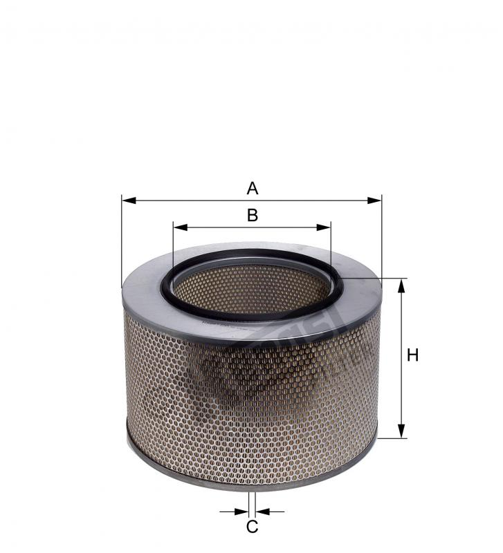 E297L HENGST AIR FILTER - MERCEDES ACTORS