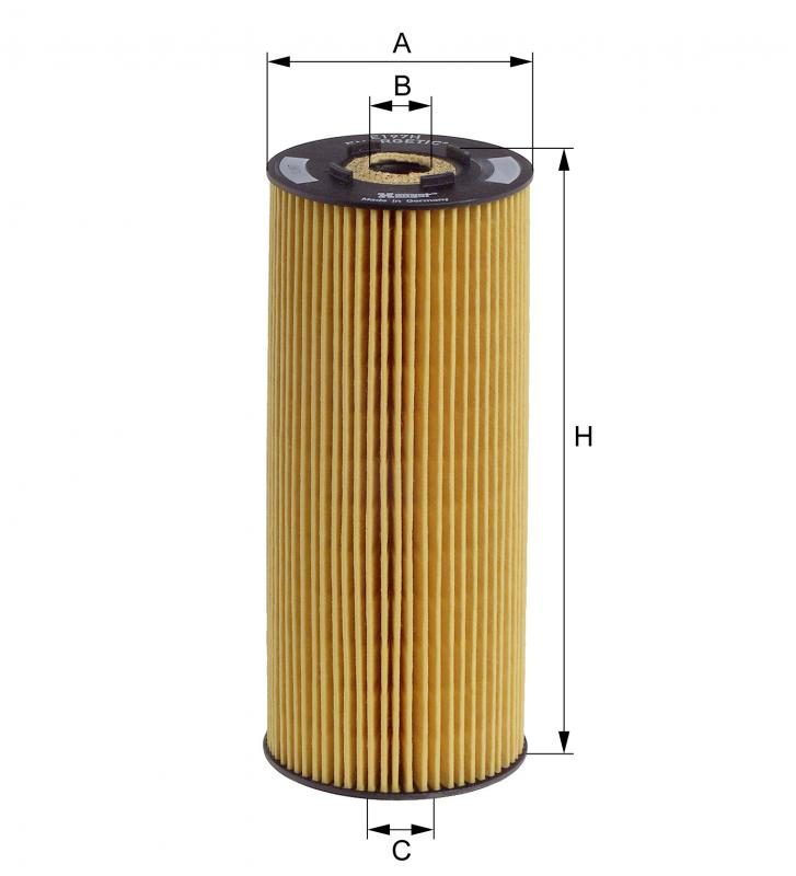 E197HD23 HENGST OIL FILTER - MERCEDES LP