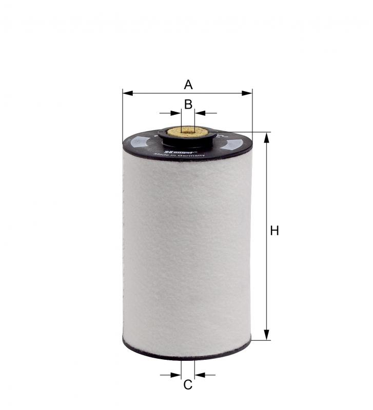 E10KFR4D10 HENGST FUEL FILTER - MERCEDES LP 51.12503.0062