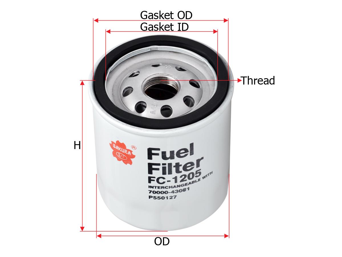 FC1205 Sakura Diseal Filter
