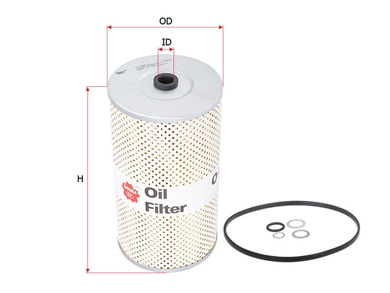 O1805-1 Sakura Filter Oil