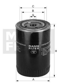 W1170/5 Mann Filter Oil